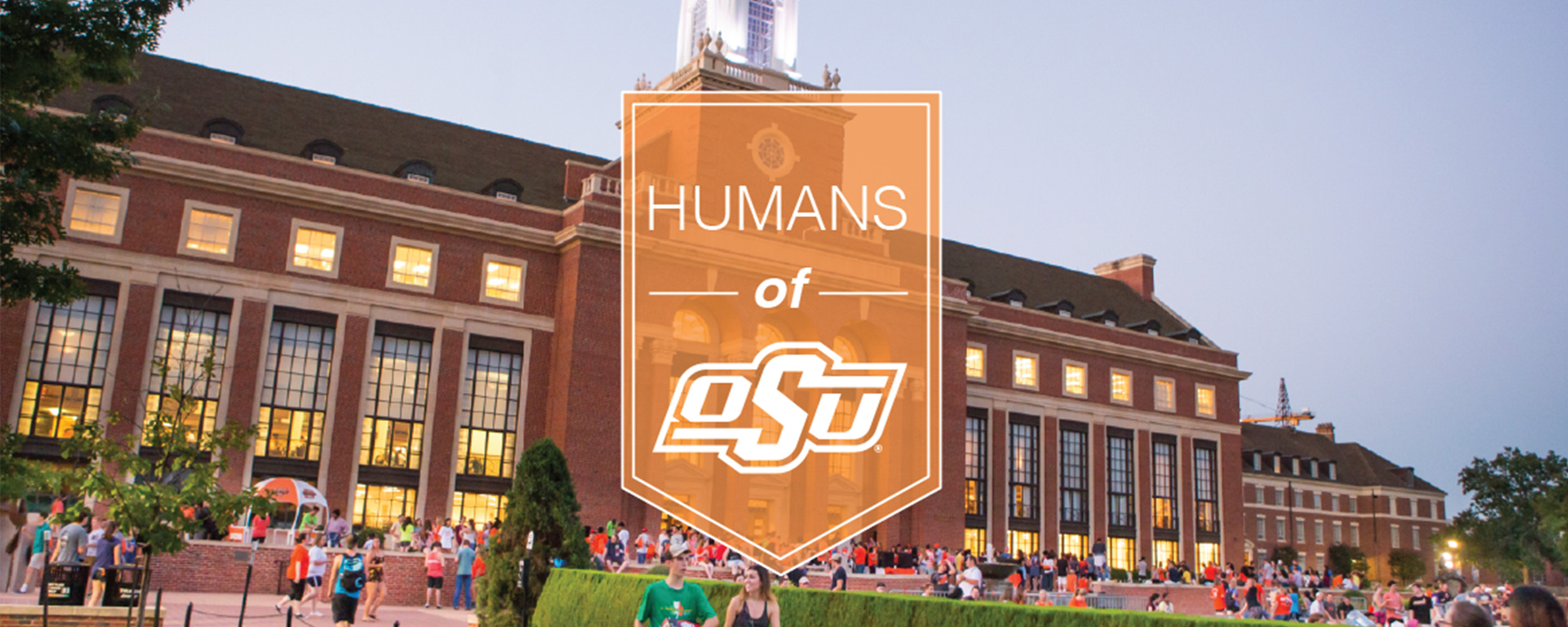 Humans of OSU banner with logo